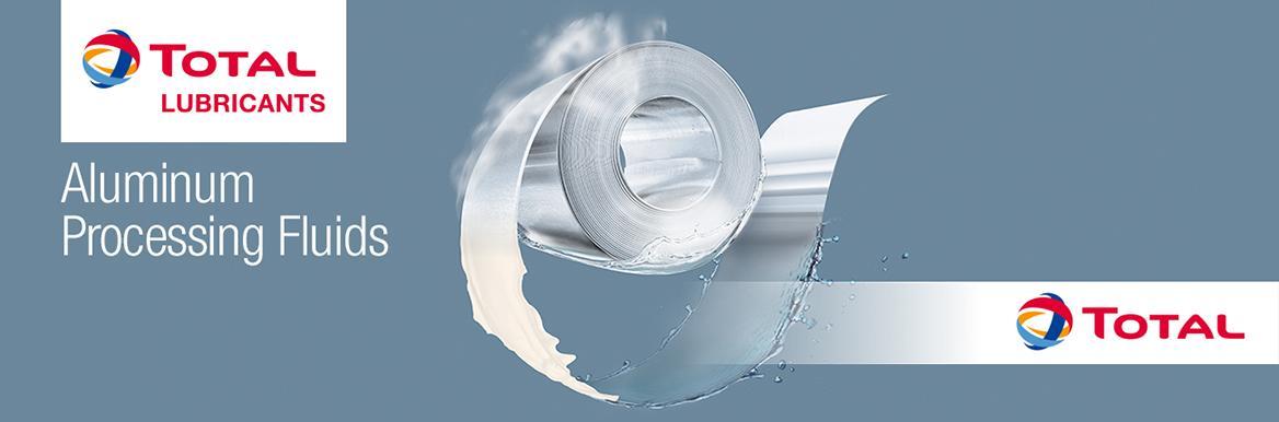 Total Aluminium Rolling Fluid Banner